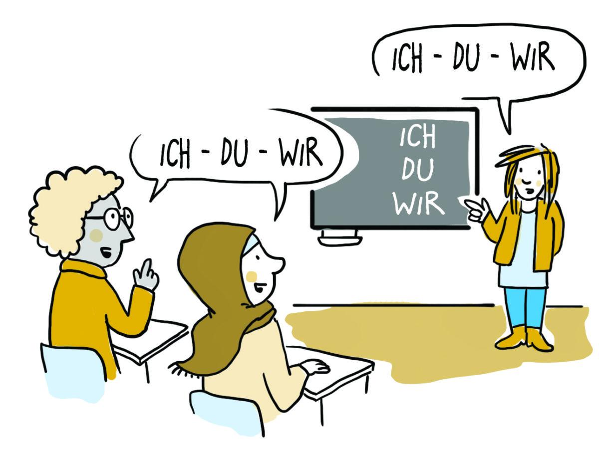 Učiti njemački jezik
